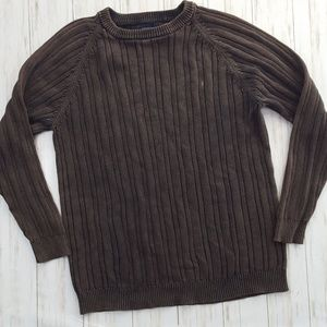 Sonoma Sweaters - Sonoma cotton cable knit sweater size L